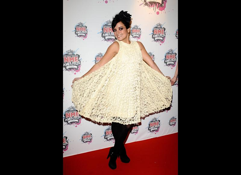<strong>2010</strong> Lily at the NME Awards