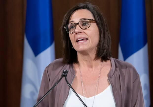 Isabelle Charest, Quebec's sports minister, is an Olympic medallist in short-track speed skating. She says reopening of certain sports hinges on the COVID-19 situation in the province.
