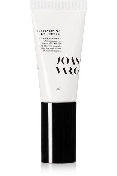"""<p>A cocktail of peptides — which constrict blood vessels and therefore reduce volume — gives this eye cream its de-puffing power. But there's more to love: The botanically-driven cream is housed in a pump-style tube, which not only makes it built for travel, but a boon to stability and sterility, too.</p><br><br><strong>Joanna Vargas</strong> Revitalizing Eye Cream, $75, available at <a href=""""https://www.dermstore.com/product_Revitalizing+Eye+Cream_71654.htm"""" rel=""""nofollow noopener"""" target=""""_blank"""" data-ylk=""""slk:DermStore"""" class=""""link rapid-noclick-resp"""">DermStore</a>"""