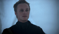 <p><em>Alias</em> was the first high-profile acting gig for David Anders, and despite being American his very convincing British accent only helped make his character seem more devious. He played Julian Sark (think Draco Malfoy in spy form), a rival to Sydney Bristow who was out only for himself. His work on <em>Alias</em> helped him land a plum gig as Adam on <em>Heroes</em>, playing another Brit. </p>