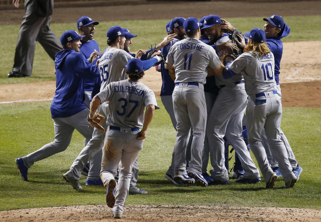 The Dodgers might be the favorite for the World Series, but the Astros are no pushover. (AP Photo/Charles Rex Arbogast)