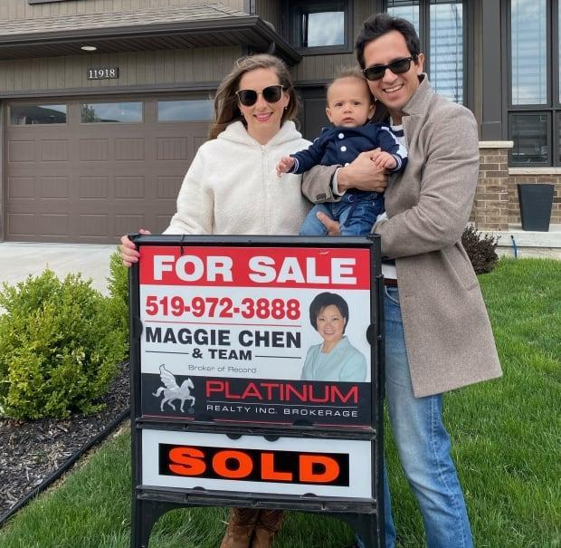 Al Soultani and his family sold their home for $200,000 over asking. Soultani says the sale feels like he did 'win the lottery.'