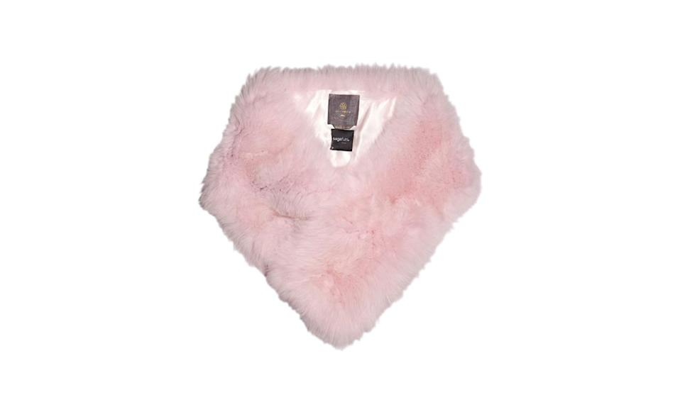 """<p>Lilly E Violetta fox fur scarf, $2,865,<a href=""""http://www.matchesfashion.com/us/products/Lilly-E-Violetta-Fox-fur-scarf%09-1049826"""" rel=""""nofollow noopener"""" target=""""_blank"""" data-ylk=""""slk:Matches Fashion"""" class=""""link rapid-noclick-resp""""> Matches Fashion </a></p>"""