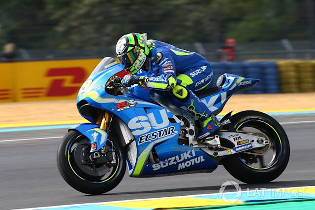 """Andrea Iannone - Suzuki (2017-18) <span class=""""copyright"""">Gold and Goose / Motorsport Images</span>"""