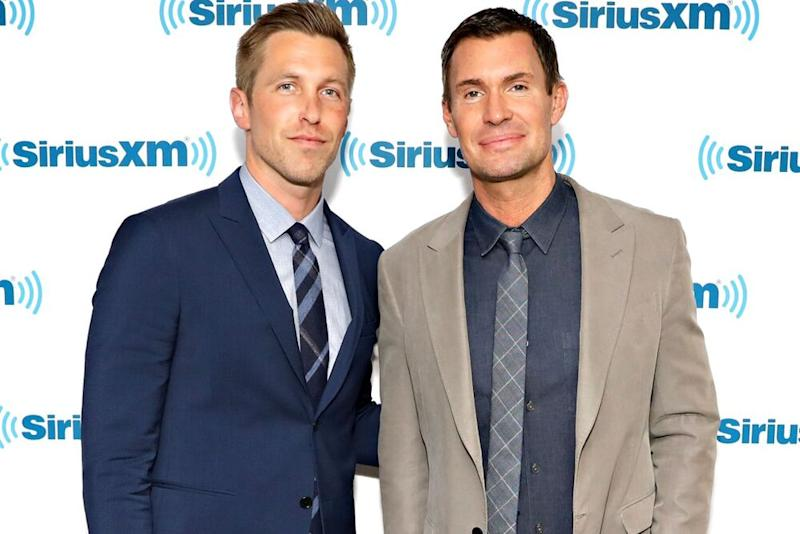 Gage Edward and Jeff Lewis   Cindy Ord/Getty Images