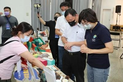 Taitung Cloud Expo Introduced local flavors on the world on Live Mall