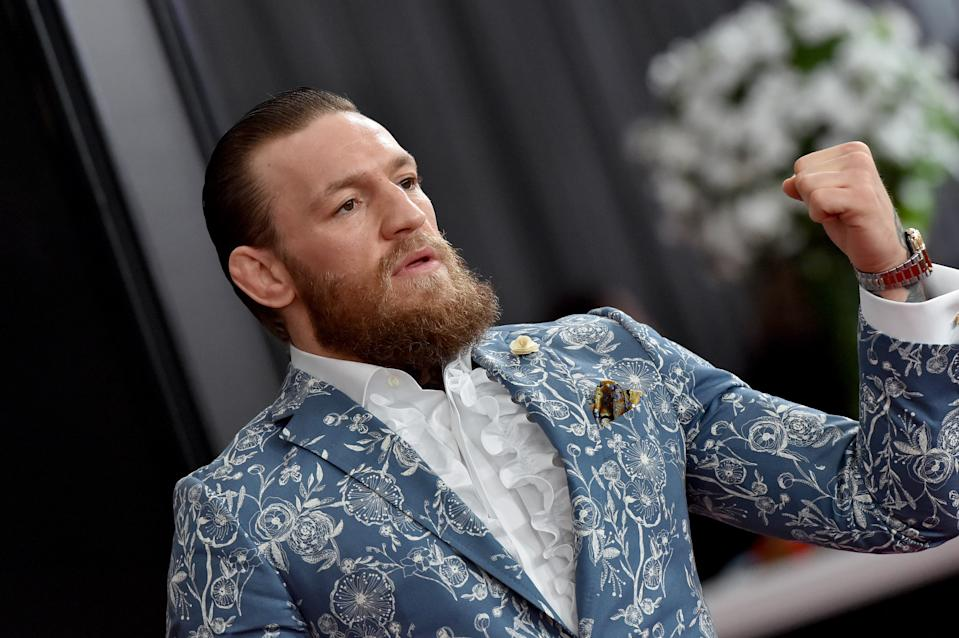 LOS ANGELES, CALIFORNIA - JANUARY 26: Conor McGregor attends the 62nd Annual GRAMMY Awards at Staples Center on January 26, 2020 in Los Angeles, California. (Photo by Axelle/Bauer-Griffin/FilmMagic)