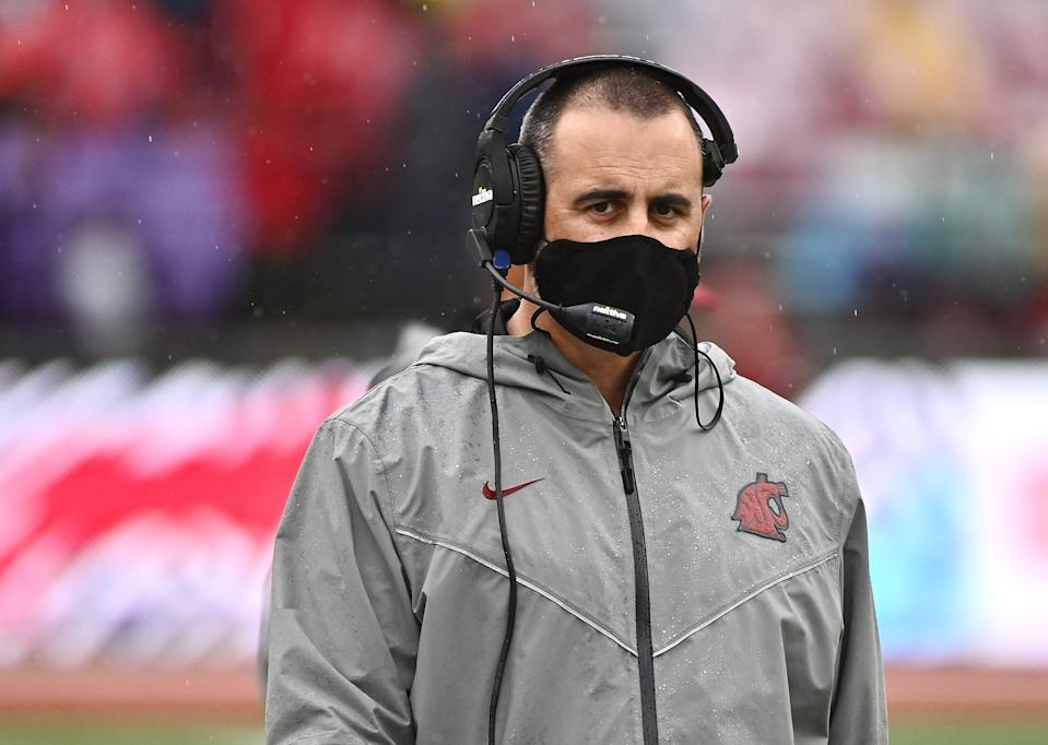 Cougars coach Nick Rolovich has asked for a religious exemption from the coronavirus vaccine mandate.