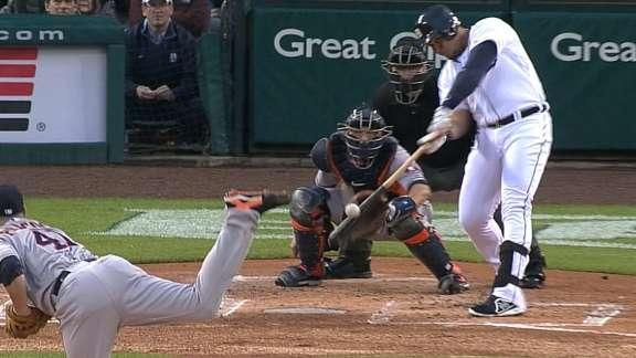 Tigers win 8th straight, 3-2 over Astros