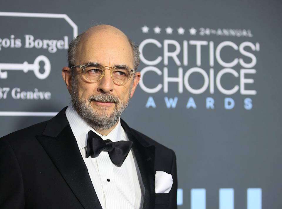 Richard Schiff attends the Critics Choice Awards in Santa Monica, California on Jan. 13, 2019. (Photo: Danny Moloshok / Reuters)