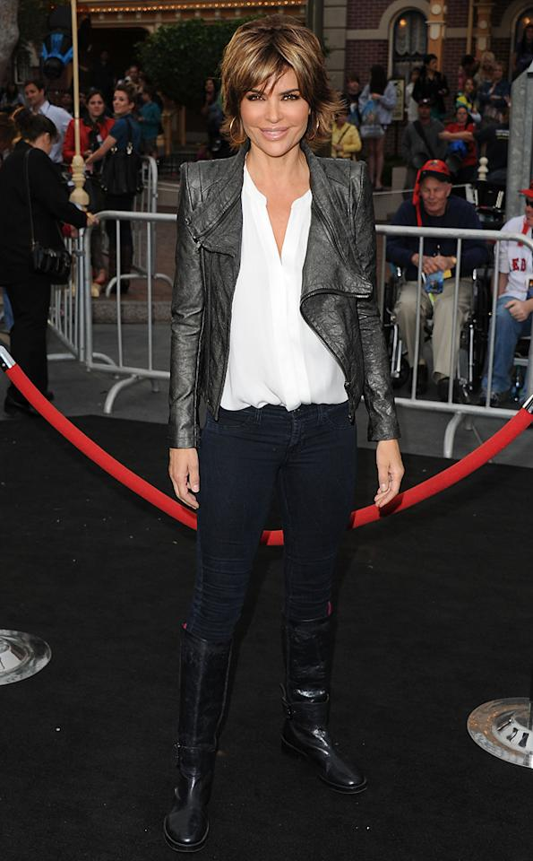 "<a href=""http://movies.yahoo.com/movie/contributor/1800044229"">Lisa Rinna</a> attends the Disneyland premiere of <a href=""http://movies.yahoo.com/movie/1809791042/info"">Pirates of the Caribbean: On Stranger Tides</a> on May 7, 2011."