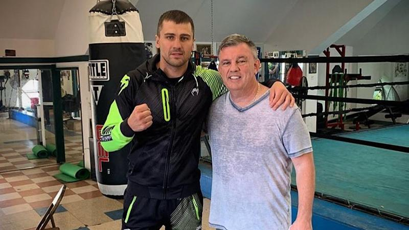 WBC light heavyweight champion Oleksandr Gvozdyk raised his game with the help of trainer Teddy Atlas. (Instagram/alex_gvozdyk)