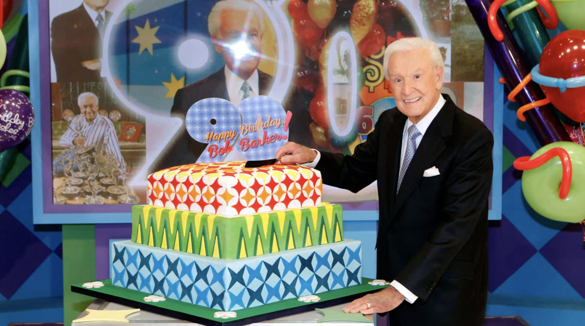 Bob Barker returned to Price is Right in 2013 to celebrate his 90th birthday (Photo: Sonja Flemming/CBS Broadcasting, Inc.)