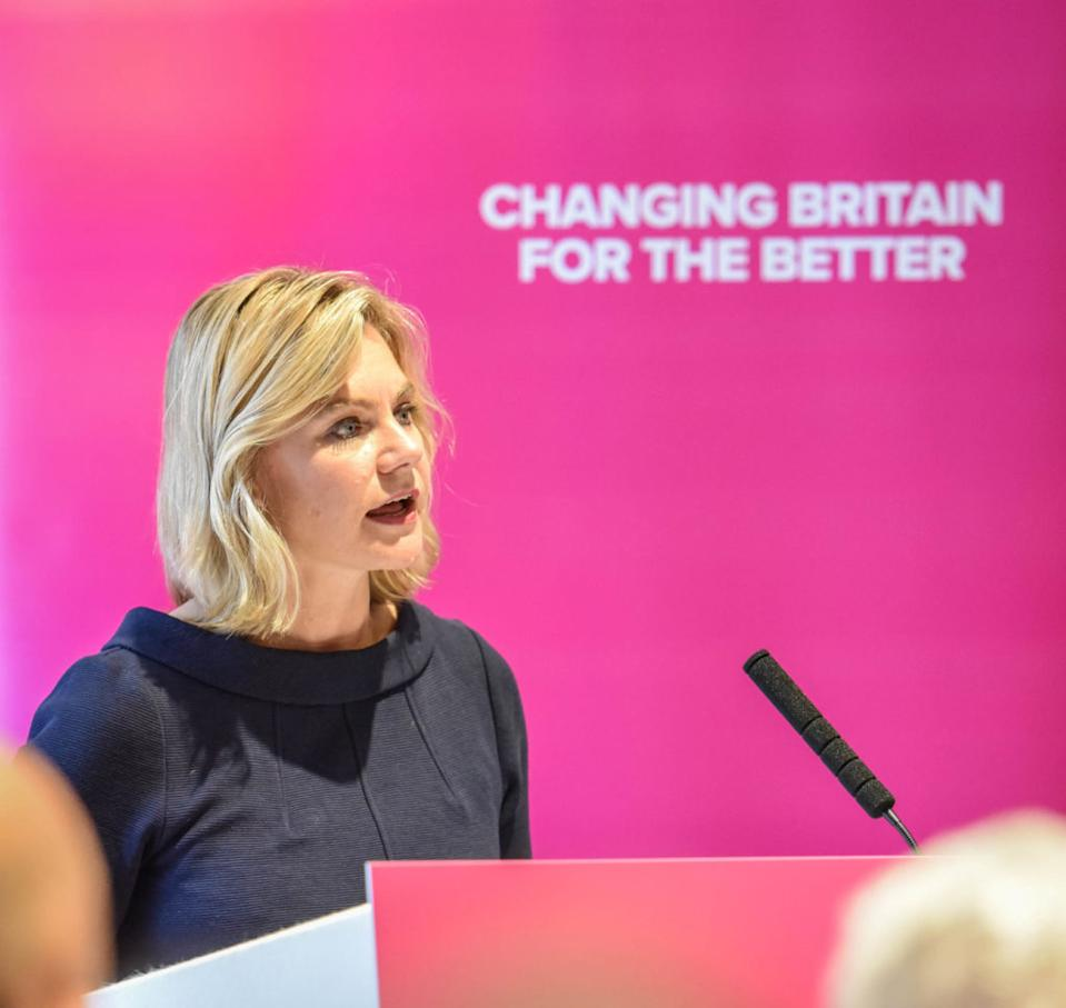 British former Conservative Party politician Justine Greening. (Supplied)