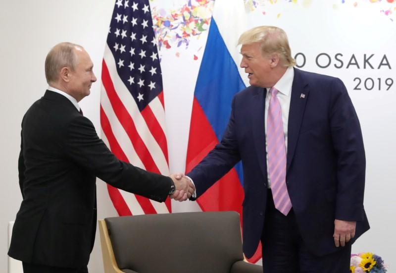 Putin and Trump discussed G7 summit, oil markets in call, Kremlin says