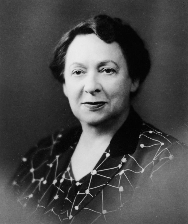"""<a href=""""http://www.senate.gov/artandhistory/history/common/briefing/women_senators.htm""""><strong>Served from:</strong></a> 1954 A portrait of Sen. Hazel Hempel Abel (1888 - 1966). (Photo by Hulton Archive/Getty Images)"""