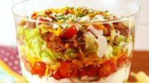 """<p>When in doubt, add ranch.<br></p><p>Get the recipe from <a href=""""https://www.delish.com/cooking/recipe-ideas/recipes/a53024/chicken-bacon-ranch-seven-layer-dip-recipe/"""" rel=""""nofollow noopener"""" target=""""_blank"""" data-ylk=""""slk:Delish"""" class=""""link rapid-noclick-resp"""">Delish</a>.</p>"""