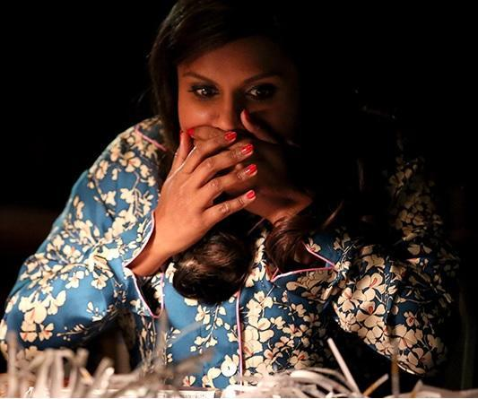 """Mindy Kaling just got the most incredible gift from a """"Mindy Project"""" intern"""