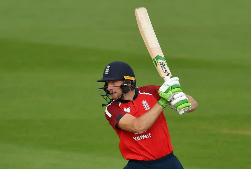 England's Buttler to miss third T20 after leaving 'bubble'