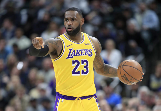 Los Angeles Lakers star LeBron James is a man apart. (Andy Lyons/Getty Images)