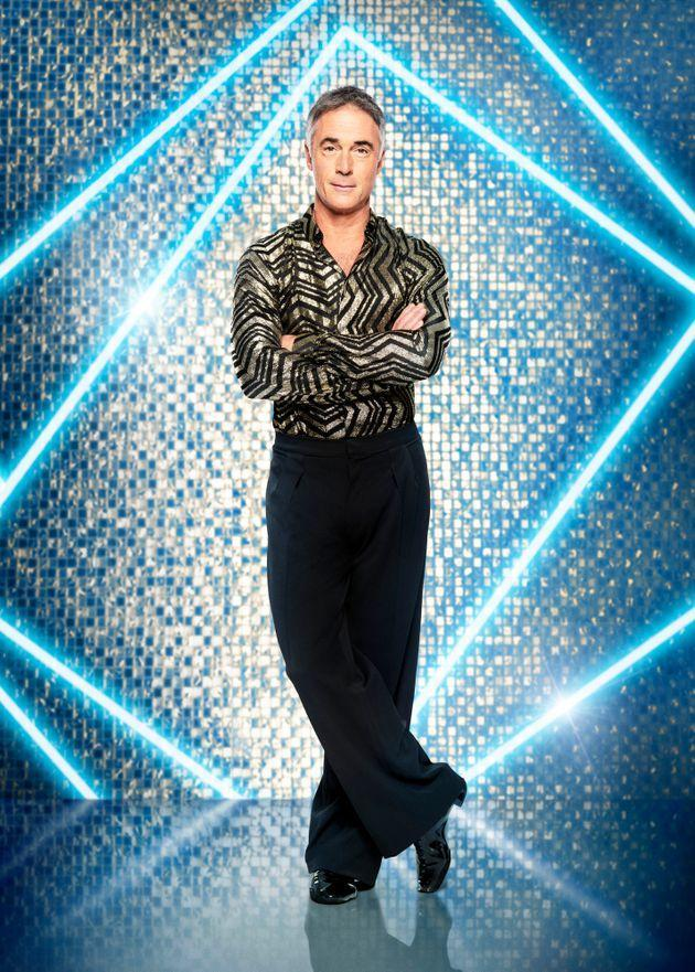 Greg is one of 15 stars competing on Strictly this year (Photo: BBC/Ray Burmiston)