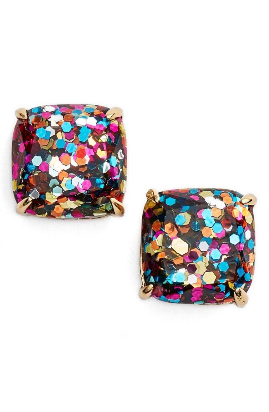 <p>These <span>Kate Spade Mini Small Square Stud Earrings</span> ($32) are a customer favorite. They come in many different colors! </p>