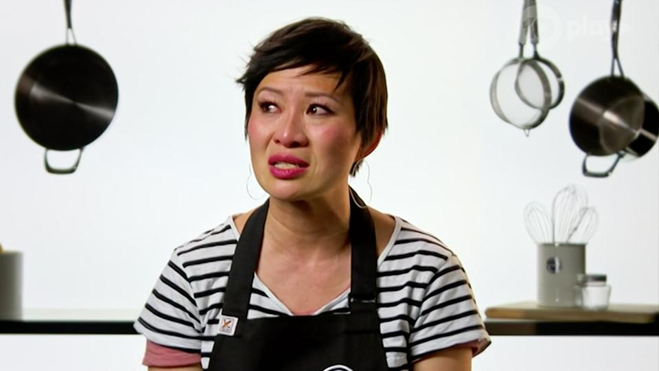 Fans were shocked on Sunday night as Poh Ling Yeow was eliminated from MasterChef. Photo: Ten