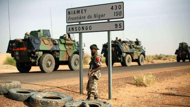 PHOTO: A soldier stands on the border of Niger. (file photo) (Jerome Delay/AP, file photo)