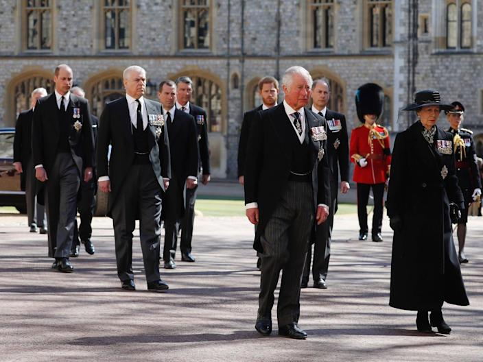 royals prince philip funeral