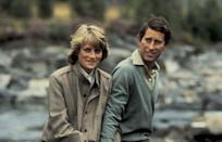"""<p>Charles starts seeing <a href=""""https://www.townandcountrymag.com/society/tradition/news/g2530/princess-diana/"""" rel=""""nofollow noopener"""" target=""""_blank"""" data-ylk=""""slk:Lady Diana Spencer"""" class=""""link rapid-noclick-resp"""">Lady Diana Spencer</a> over the summer. After a brief courtship, they announce their engagement next February.</p>"""