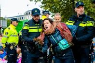 Police arrested activists in several cities