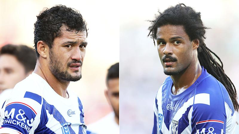 Corey Harawira-Naera and Jayden Okunbor have been stood down over the controversy.