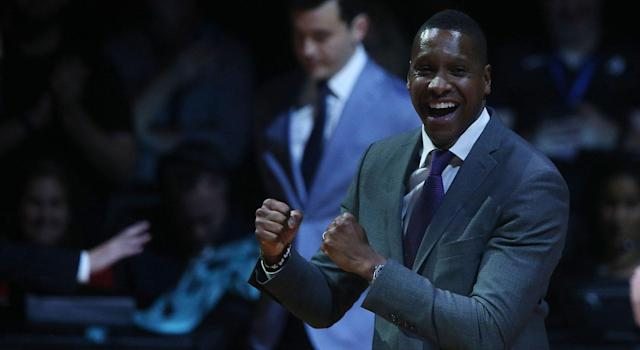 Don't expect too much action from Masai Ujiri at the NBA trade deadline. (Getty Images)