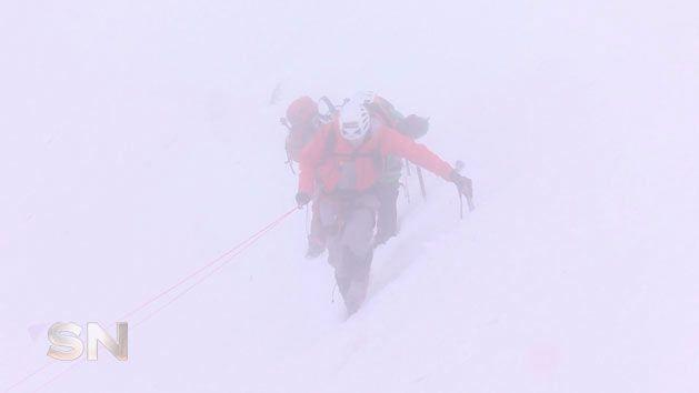 Video of Sweeney and his children on Mont Blanc attracted fierce criticism
