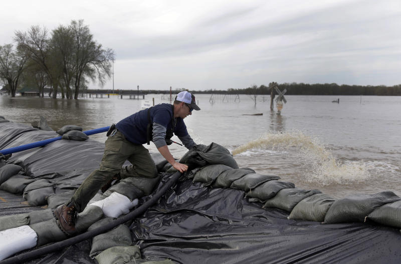More rain expected for already swollen rivers