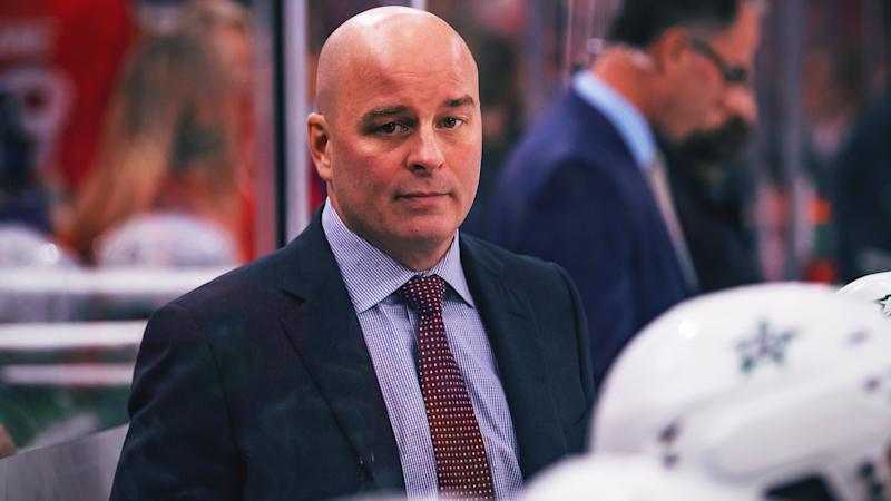 The Dallas Stars have fired head coach Jim Montgomery. (Patrick Gorski/Icon Sportswire via Getty Images)