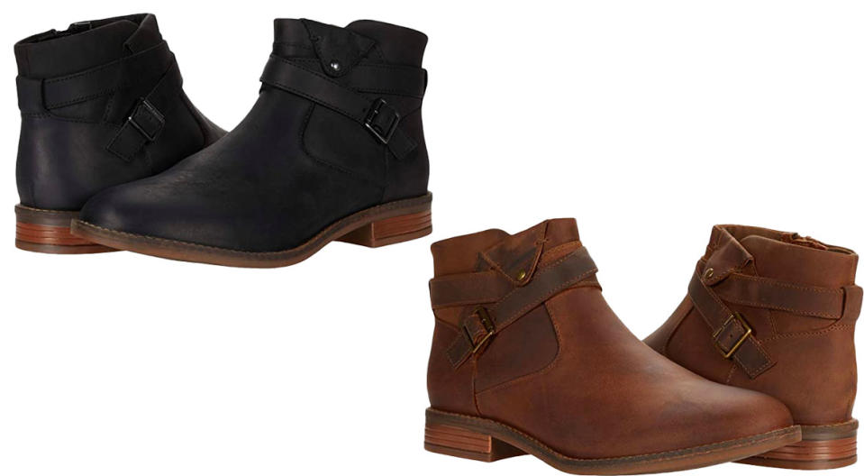 Clarks Camzin Dime boots are $50 off. (Photo: Zappos)