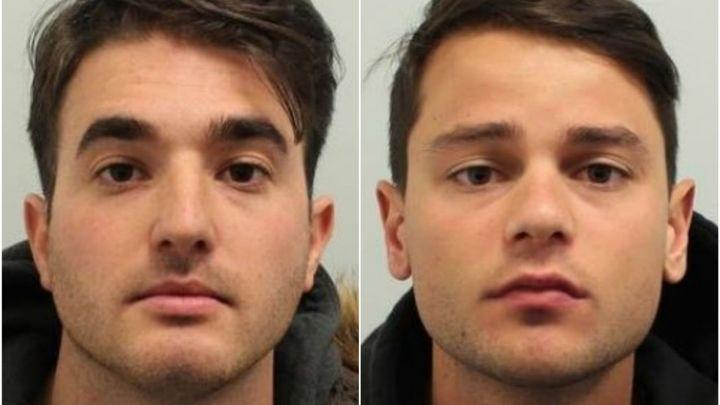 Ferdinando Orlando, 25, and Lorenzo Costanzo, 26, have been jailed for a total of 15 years (Picture: Police)