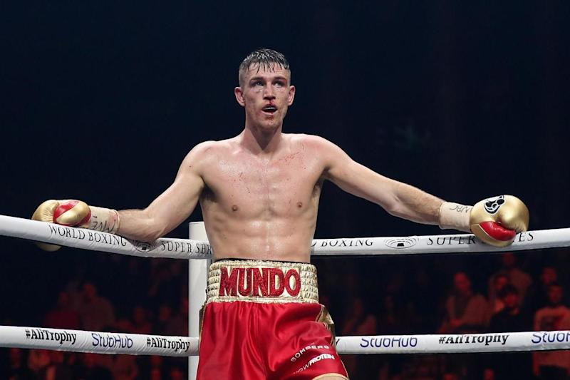 Boost: Callum Smith will face Dutchman Nieky Holzken: Getty Images