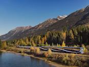 <p>Enjoy the crisp mountain air when you disembark at locations like Banff, which is in Banff National Park and is Canada's highest town. While on board, a visit to one of the Rocky Mountaineer's open-air viewing platforms is great for stretching your legs and breathing in the pine-scented air.</p>
