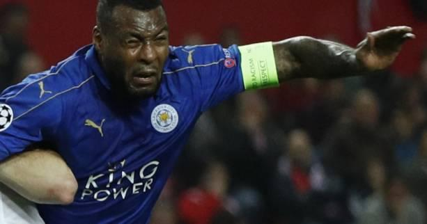 Foot - ANG - Leicester - Leicester : Wes Morgan out pour Everton et l'Atlético de Madrid