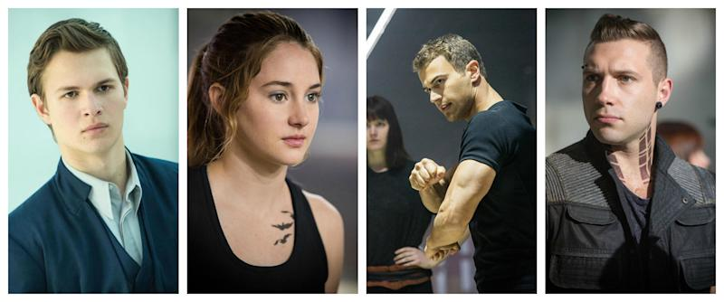 the next big things for the �divergent� cast