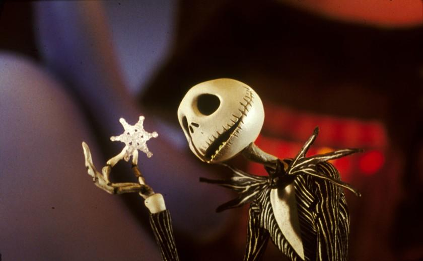 "Animated ""Nightmare Before Christmas"" was spooky."