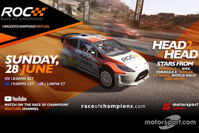 "Virtual Race of Champions poster <span class=""copyright"">Motorsport.com</span>"