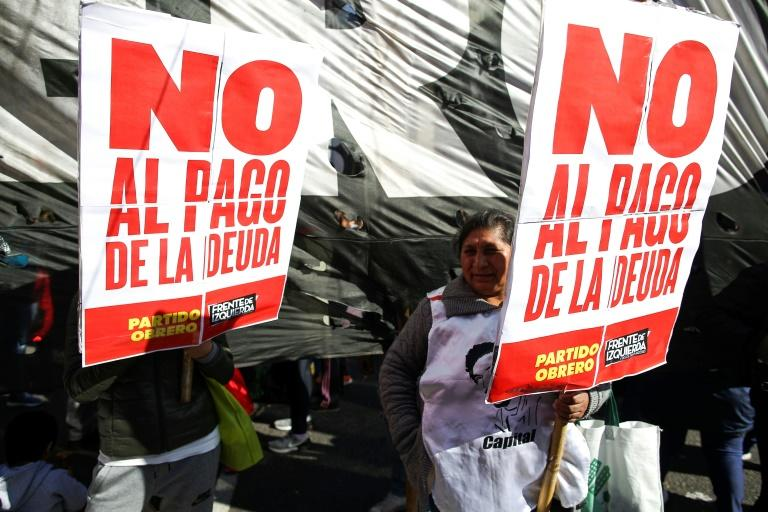 Argentines fed up with austerity measures want the government to default on its debt repayments