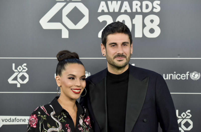 MADRID, SPAIN - NOVEMBER 02: Melendi attends during 'LOS40 Music Awards' 2018 at WiZink Center on November 2, 2018 in Madrid, Spain. (Photo by Juan Naharro Gimenez/Getty Images)