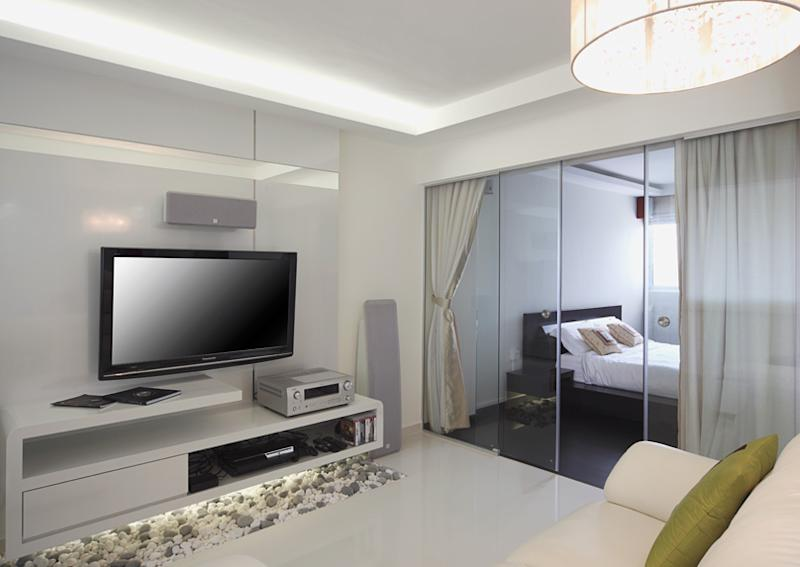singapore hdb living room design 5 space defying hdb bedrooms 21119
