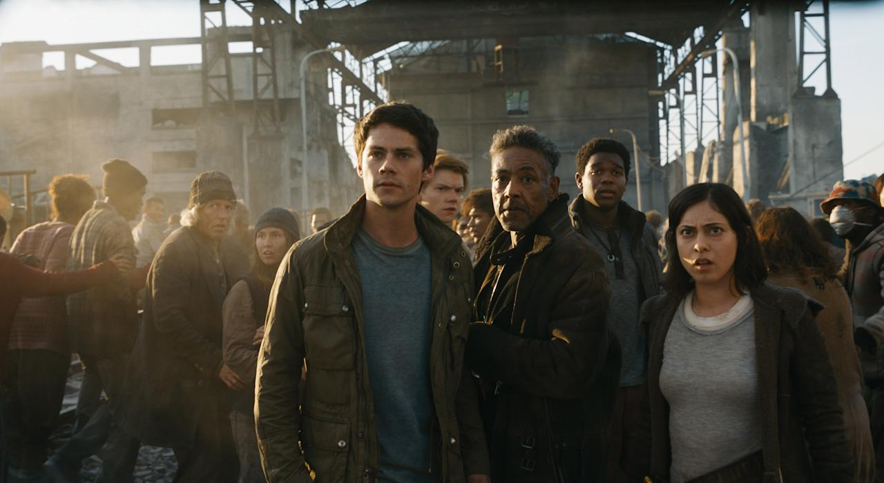 <p>The final part of the Maze Runner trilogy – about a bunch of kids trying to survive a post-apocalyptic world – arrives this year, after being delayed to give star Dylan O'Brien time to recover from injuries sustained on set. </p>