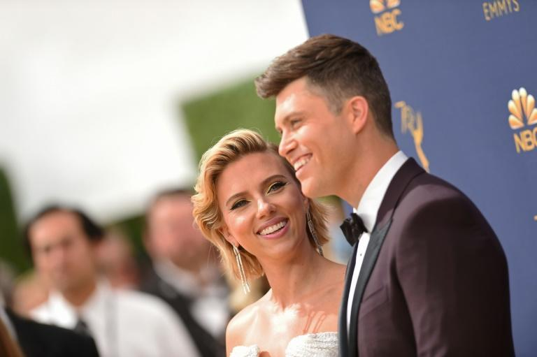 """Scarlett Johansson and Colin Jost wed in front of """"immediate family and loved ones, following COVID-19 safety precautions"""""""