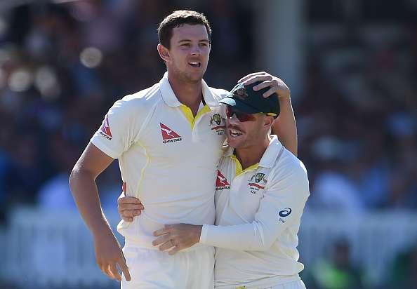 David Warner and Josh Hazlewood